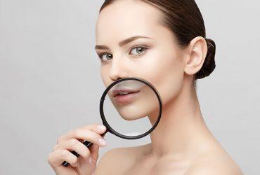 Skin Expert examines skin